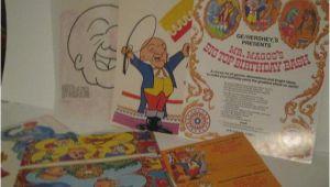 Mr Magoo Birthday Card Birthday Bash Circus Time Mr Magoo 39 S Big top Birthday