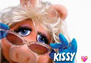 Muppets Happy Birthday Meme Miss Piggy Kissy Kissy Birthday Greetings by Sherry S