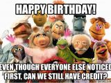 Muppets Happy Birthday Meme Security Muppet Birthday