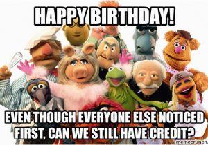 Muppets Happy Birthday Meme Security Muppet Birthday