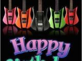 Music Birthday Memes Happy Birthday to You Image with Guitars Pictures Photos