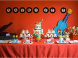 Music Decorations for Birthday Party Baby Jam Musical themed 1st Birthday Party