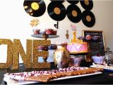 Music Decorations for Birthday Party Music themed Birthday Party Ideas Photo 1 Of 12 Catch