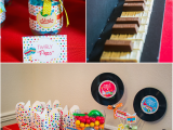 Music themed Birthday Decorations Baby Jam Music Inspired 1st Birthday Party Party Ideas