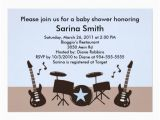 Music themed Birthday Invitations Musical theme Baby Shower Ideas Free Printable Baby
