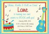 Music themed Invitations for Birthday Music Birthday Invitation Music Birthday Music