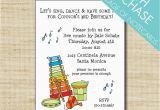 Music themed Invitations for Birthday Music themed Birthday Party Invitations Best Party Ideas