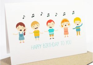 Musical Birthday Cards for Children Singing Cards for Birthday Luxury Happy Birthday Card Kids