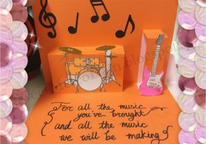 Musical Birthday Cards For Husband Sweet Meteorain The Band Card