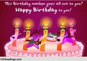 Musical Birthday Greeting Cards For Facebook A Singing Wish Free Songs Ecards