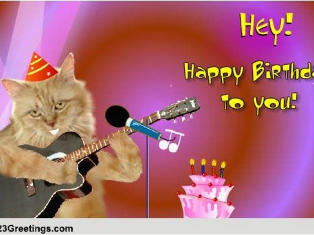 Download By SizeHandphone Tablet Desktop Original Size Back To Musical Birthday Greeting Cards For Facebook