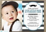 Mustache 1st Birthday Invitations Little Man Invitation Mustache Invitation First Birthday