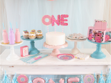 My First Birthday Decorations Donut First Birthday Party