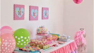 My First Birthday Party Decorations 34 Creative Girl First Birthday Party themes and Ideas