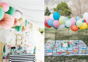 My First Birthday Party Decorations Ideas and Inspiration for An Epic First Birthday Party