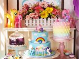 My Little Pony Birthday Party Ideas Decorations Kara 39 S Party Ideas My Little Pony Pastel Birthday Party