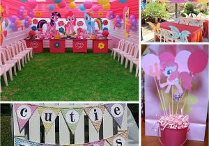 My Little Pony Birthday Party Ideas Decorations At