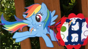 My Little Pony Happy Birthday Letter Banner Items Similar to My Little Pony Rainbow Dash Happy