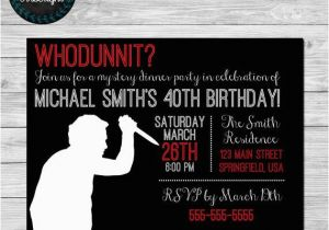 Mystery Birthday Party Invitations How To Host A Murder