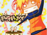 Naruto Birthday Card Amamos Animes Outubro 2012