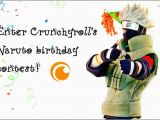 Naruto Birthday Card Crunchyroll forum Create Birthday Cards for Naruto