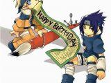 Naruto Birthday Card Happy Birthday From Naruto and Sasuke Photo by