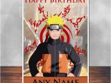 Naruto Birthday Card Naruto Birthday Card 5×7 Inches 128mm X 178mm by
