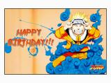 Naruto Birthday Card Peanuts and Naruto Birthday Cards fortytwo