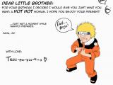 Naruto Birthday Card Retarded Naruto Birthday Card by Shylittleghost On Deviantart