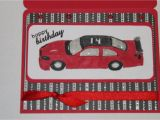 Nascar Birthday Card Crafty Girl 21 Nascar Birthday Card