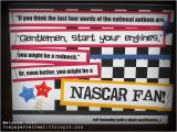 Nascar Birthday Card Nascar Birthday Handmade Card Party Ideas Pinterest