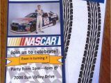 Nascar Birthday Card Nascar Birthday Party Invitations Nascar Pinterest