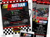 Nascar Birthday Invitations Nascar Inspired Baby Shower Party Package Decorations and