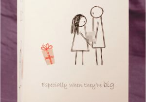 Naughty Birthday Gifts for Boyfriend Funny Mature Adult Dirty Naughty Cute Love Greeting Card for