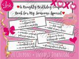 Naughty Birthday Gifts for Him Naughty Birthday Gift Printable Naughty Coupon Book for