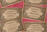 Naughty Birthday Presents for Him Naughty Couples Coupons In Ivory Satin Pouch by