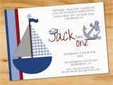 Nautical Birthday Invitations Free 5 Nautical Birthday Invitations for Your Inspiration