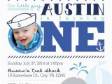 Nautical Birthday Invitations Free First Birthday or Party Invitation Nautical Crab and Whale