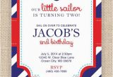 Nautical Birthday Invites Best 25 Nautical Birthday Invitations Ideas On Pinterest