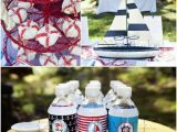 Nautical Decorations for Birthday Party A Summer Nautical Birthday Party Party Ideas Party