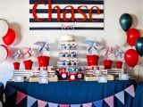 Nautical Decorations for Birthday Party Guest Party Boy 39 S Nautical First Birthday Party