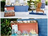 Nautical Decorations for Birthday Party Nautical First Birthday Party Pretty My Party