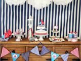 Nautical Decorations for Birthday Party Ships Ahoy A Boys Nautical Party B Lovely events