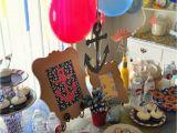 Nautical First Birthday Decorations A Nautical 1st Birthday Party Craft O Maniac