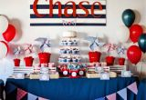Nautical First Birthday Decorations Guest Party Boy 39 S Nautical First Birthday Party
