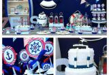 Nautical First Birthday Decorations Kara 39 S Party Ideas Nautical themed First Birthday Party