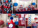 Nautical First Birthday Decorations Nautical 1st Birthday Kimi G Photography