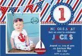 Nautical themed First Birthday Invitations 5 Nautical Birthday Invitations for Your Inspiration