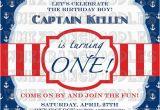 Nautical themed First Birthday Invitations Best 25 Nautical Birthday Invitations Ideas On Pinterest