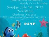 Nemo Birthday Party Invitations 48 Best Images About Dory Nemo On Pinterest Party